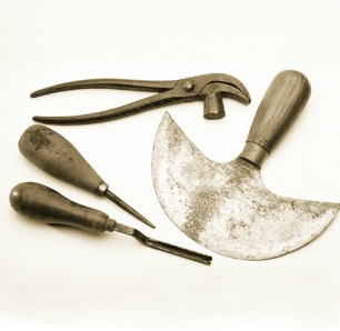 Selection of orginal hand tools